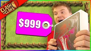 I BOUGHT A $1,000 IPAD TO PLAY CLASH OF CLANS WITH