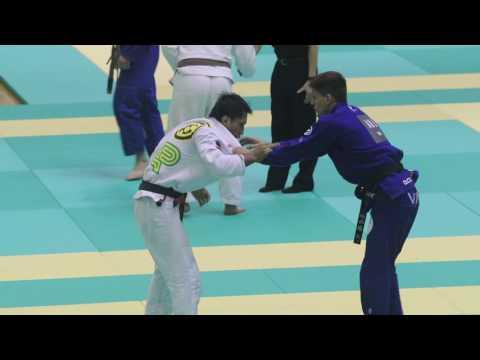ヒクソン杯2016 フェザー級準決勝 ハファエル・メンデス選手(AOJ)VS 松本義彦選手(CARPE DIEM)