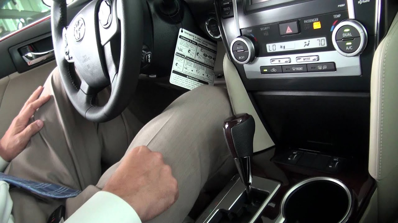 Camry Center Console Youtube