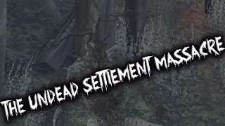 The Undead Settlement Massacre - Dark Souls 3 Trolling(w/PaleMan)