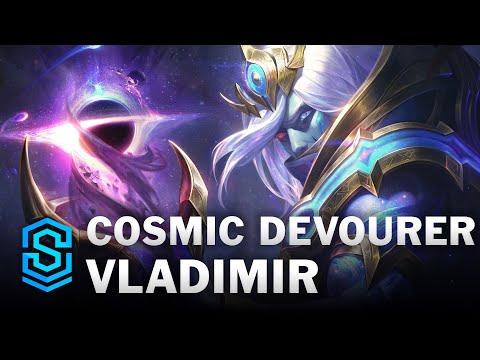 Cosmic Devourer Vladimir Skin Spotlight - League of Legends