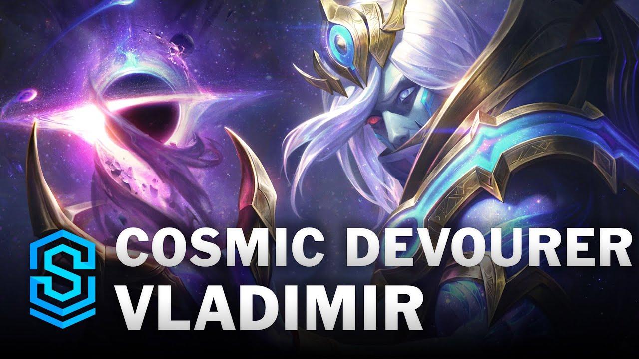 Cosmic Devourer Vladimir Skin Spotlight League Of Legends Youtube
