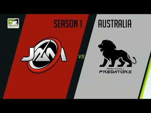 Just a Minute Gaming vs NoC Predators (Part 1) | OWC 2018 Season 1: Australia