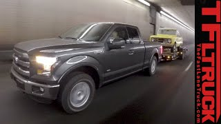 2015 Ford F-150 2.7L vs 3.5L Ike Gauntlet Tow-Off Review: Which Truck to Buy?