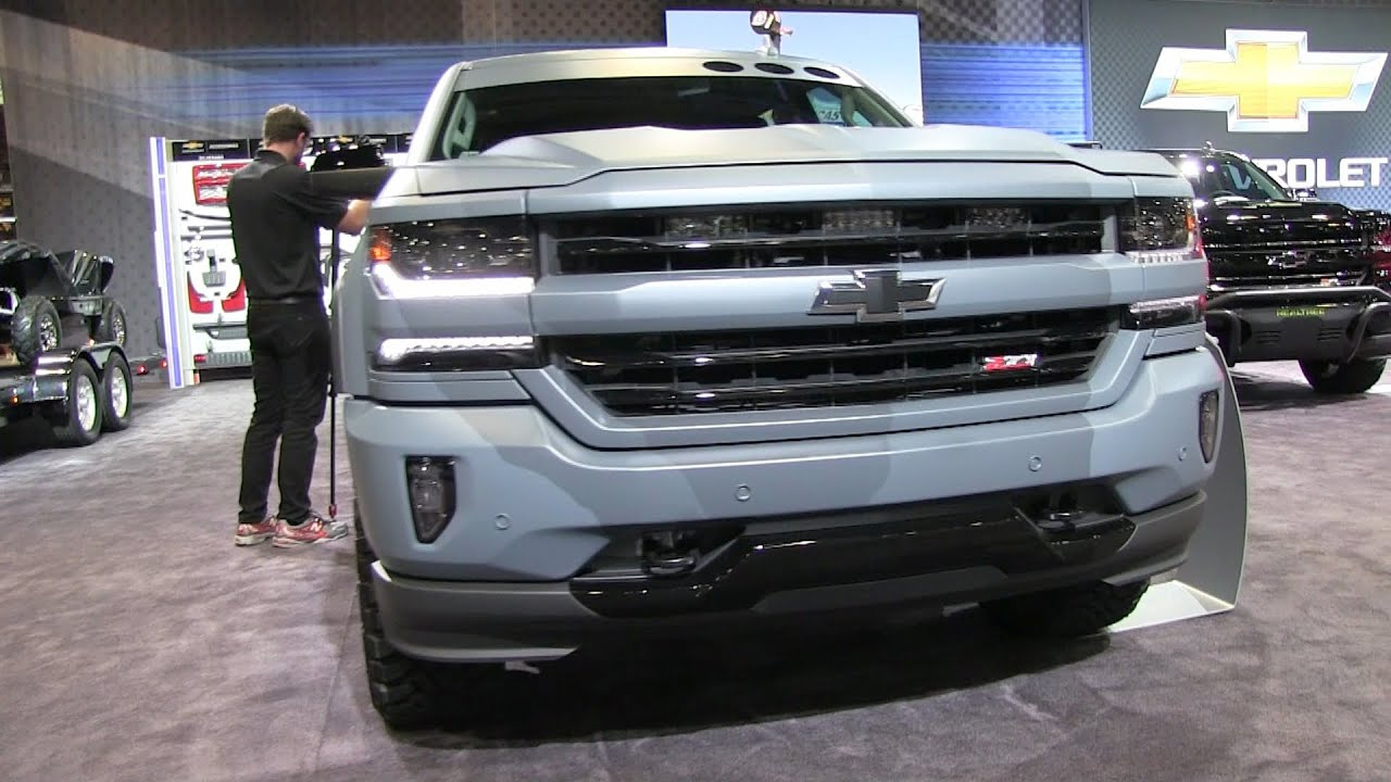 2016 Chevrolet Concept Trucks - SEMA Show - YouTube