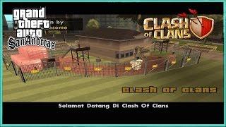 GTA SA - Clash Of Clans Versi GTA SA !!!
