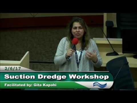 SWRCB Suction Dredge Mining Workshop