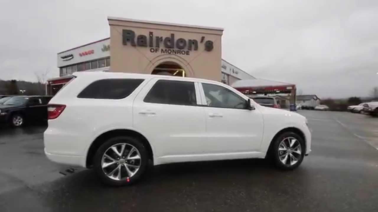 2015 Dodge Durango RT  White  FC715479  Everett  Snohomish