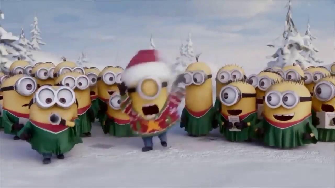 Minions Christmas.Minions Merry Christmas