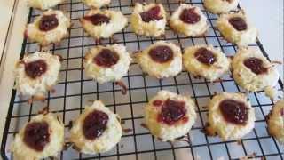 Italian Thumbprint Cookies ~ Gluten Free