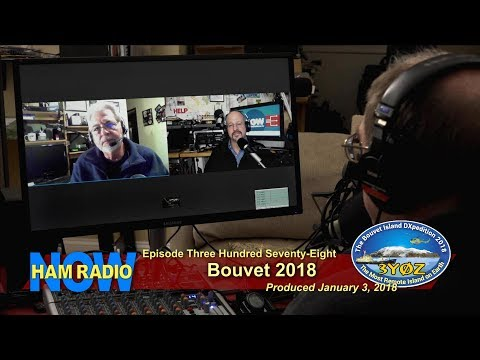 HRN 378: Bouvet 2018 on Ham Radio Now