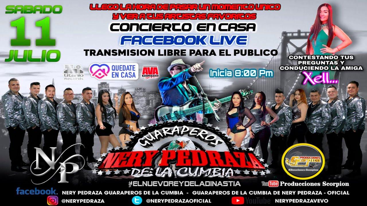 Nos vemos este Sábado 11 De Julio 8:00 Pm !!!  Transmisión en Vivo por Facebook Live Nery Pedraza