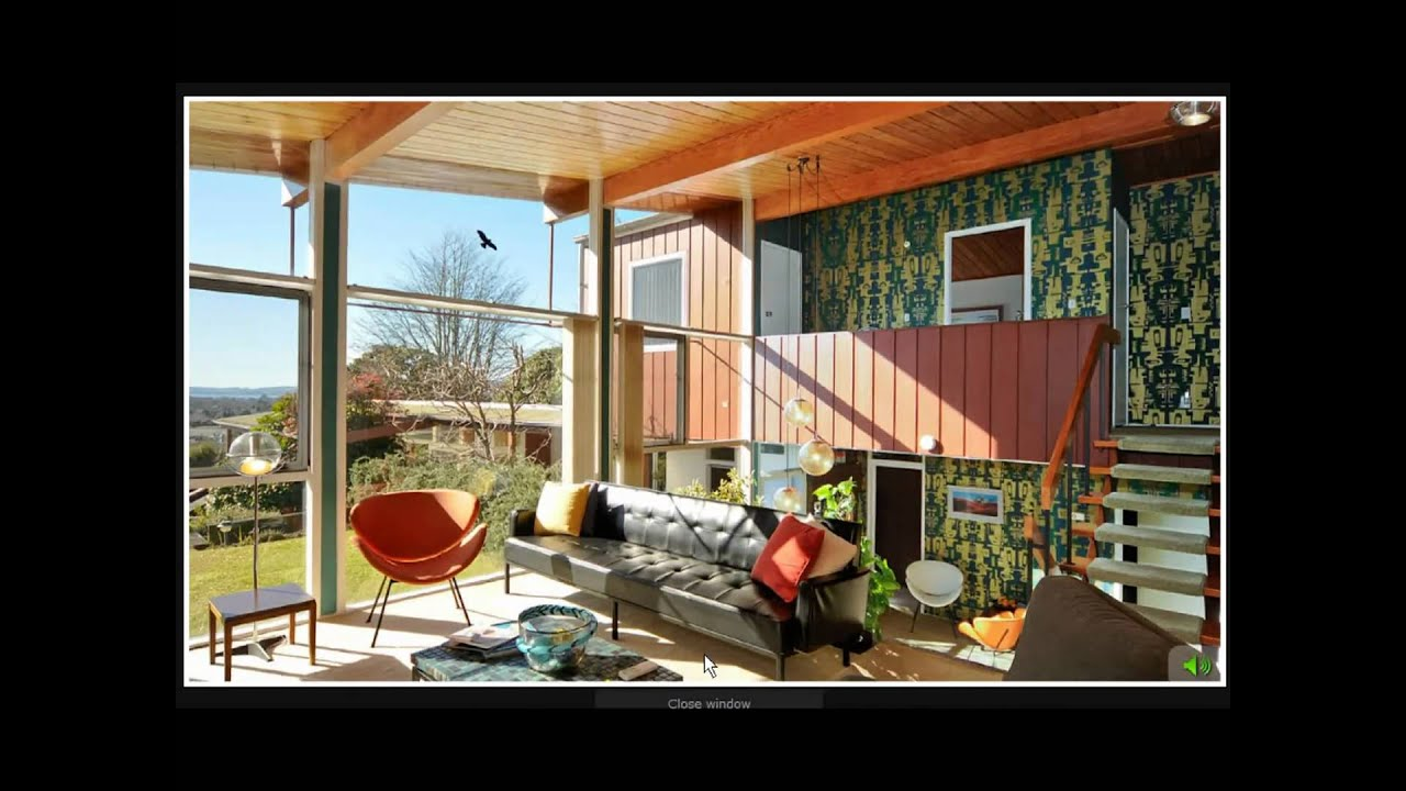 60 39 s house youtube for 60 s modern homes