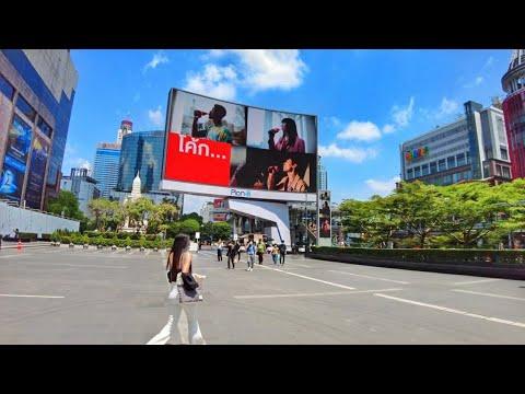 Saturday Walk In Bangkok - Walking Tour Central World, Victory Monument And Pratunam