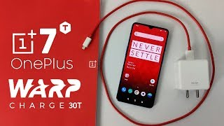 OnePlus 7T (WARP Charge 30T) BATTERY CHARGING TEST!