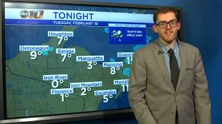Upper Peninsula Weather Forecast - Feb. 18, 2020