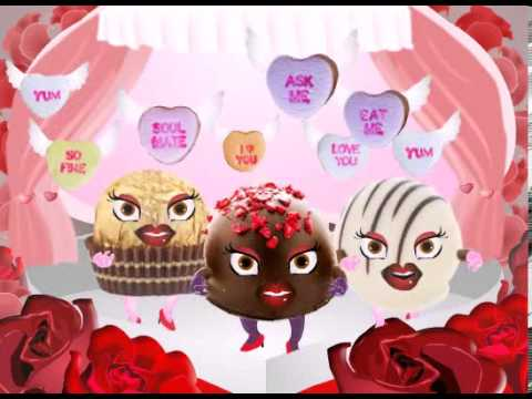 Valentine\'s Day eCard Chocolate Sisters - YouTube