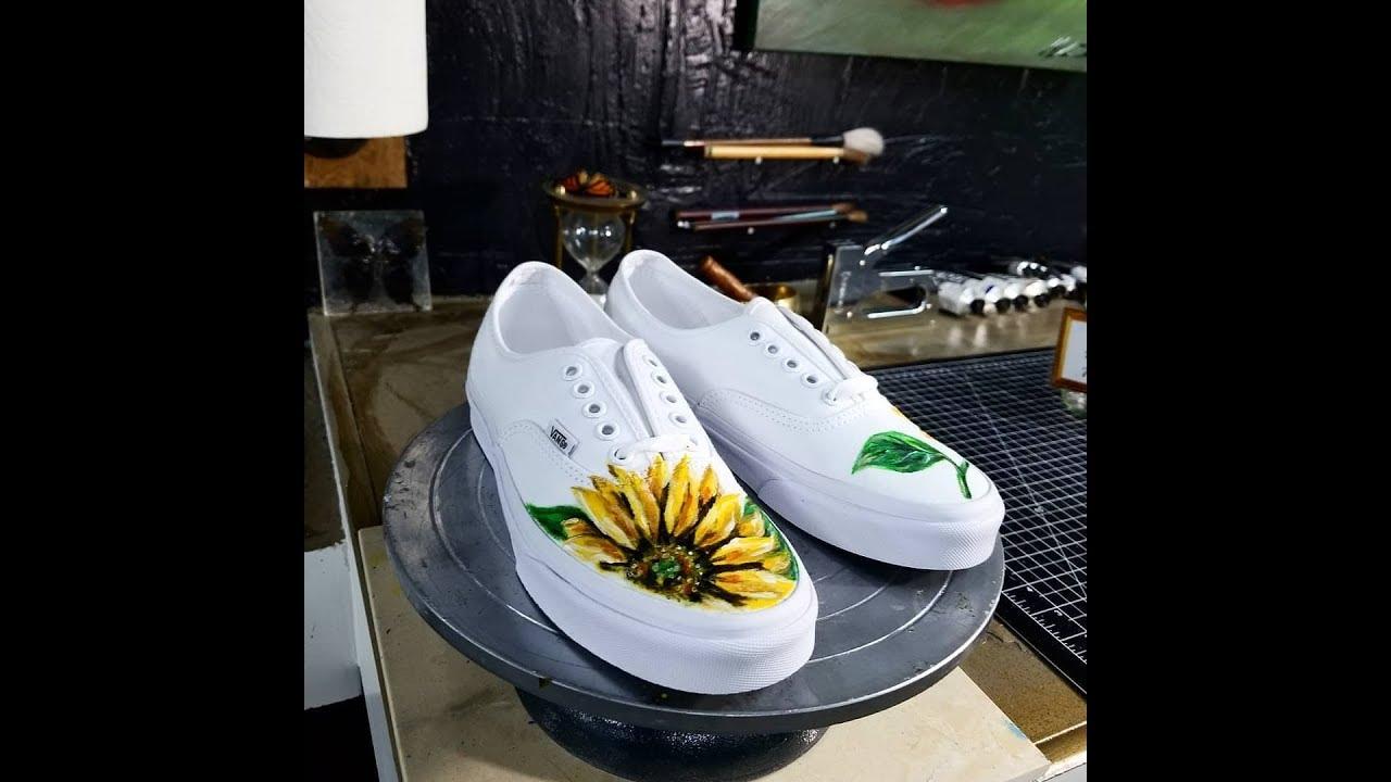 fbf699b64950 Sunflower Vans In the Making - YouTube