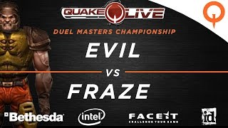 Evil vs Fraze - Furious Heights / Cure / Sinister (QuakeCon 2016)