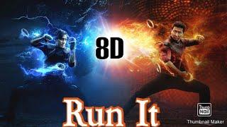 Run It - DJ Snake, Rick Ross, Rich Brian | 8D Marvel Studios' Shang-Chi