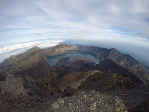 Mount Rinjani  - 林贾尼火山-Gunung Rinjani- Indonesia 印度尼西亚- 2018 - 4K- GoPro Hero 4