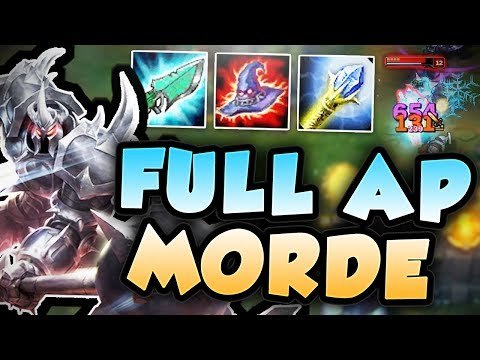 CAN ANYONE SURVIVE FULL AP MORDEKAISER BURST? 1 SHOT THE ENEMIES WITH MORDE TOP! League of Legends