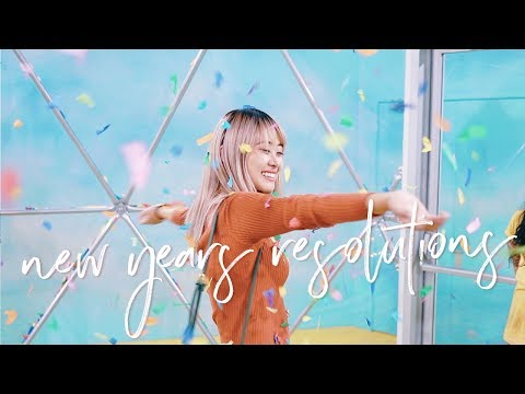 50 New Years Resolutions Ideas for 2018 🎉✨ (ft. MuchelleB)