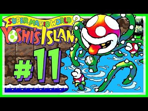 YOSHI'S ISLAND # 11 👶 Zwei Wege, Audrey zu besiegen! [HD60] Let's Play Yoshi's Island