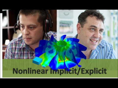 NFX Technical Webinar: Nonlinear explicit/implicit dynamic analysis