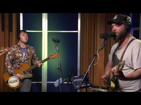 "Caveman performing ""80 West"" Live on KCRW"