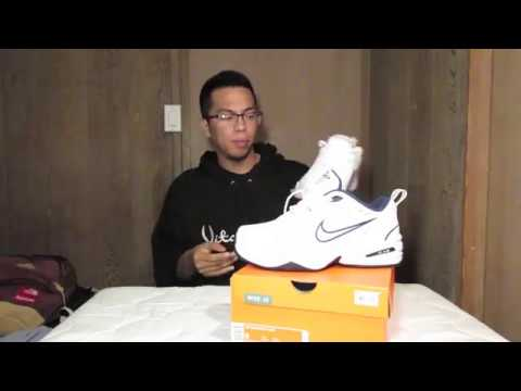 nike air monarca (revisione / unboxing) su youtube
