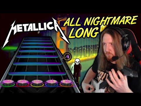 METALLICA ~ All Nightmare Long [Open Note / Harder Version]
