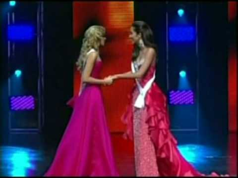 miss universe puerto rico 2010 crowning moment youtube