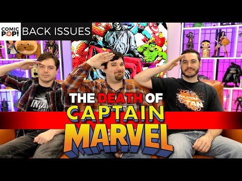 The Death Of Captain Marvel - Back Issues