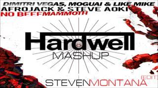 Dimitri Vegas & Like Mike & MOGUAI x Steve Aoki & Afrojack - No Beef Mammoth (Hardwell Mashup)