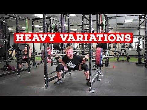 Heavy Squat Variations