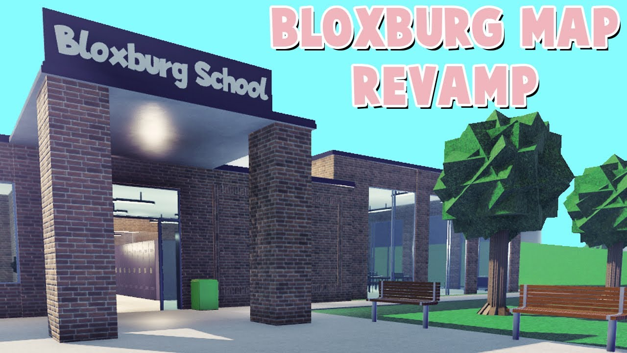 FIRST LOOK At The NEW BLOXBURG TOWN REVAMP! (Roblox)