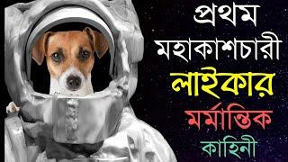 কাঁদতে বাধ্য হবেন | প্রথম মহাকাশচারী লাইকার সাথে কি হয়েছিল জেনে | The Sad Story of Laika In Bangla