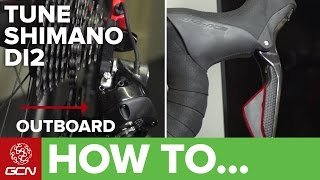 How To Tune Shimano Di2 Groupsets – Adjust Electronic Shifting