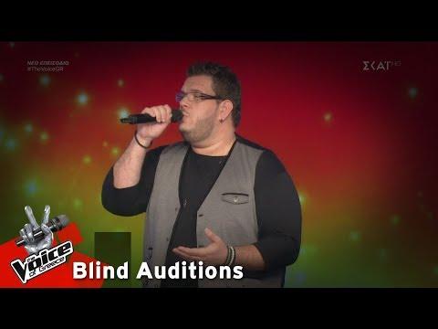 Ξενοφών Λαφαζάνης – Υπάρχω | 6o Blind Audition | The Voice of Greece