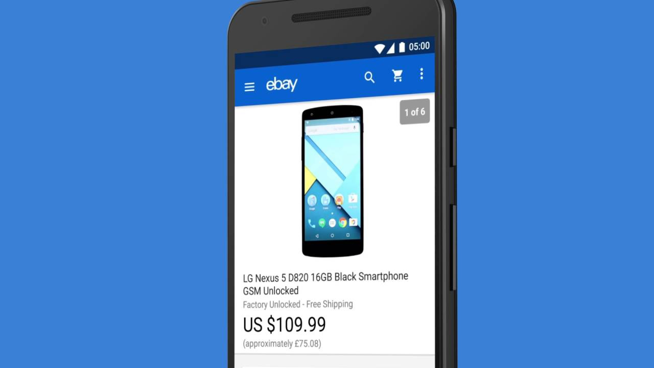 Ebay How To Ebay Android Buy Sell Save Youtube