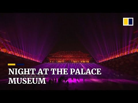 China's Forbidden City opens to the public for rare night-time light show Mp3