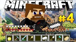 НОВЫЕ ПОСТРОЙКИ И РАЗБОЙНИКИ - Minecraft Колония #4