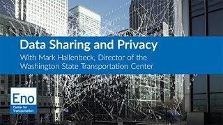 Webinar: Data Sharing and Privacy