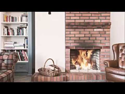 Anderson's Chimney Fireplace Makeover - YouTube
