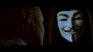 V For Vendetta: Words will always retain their power.