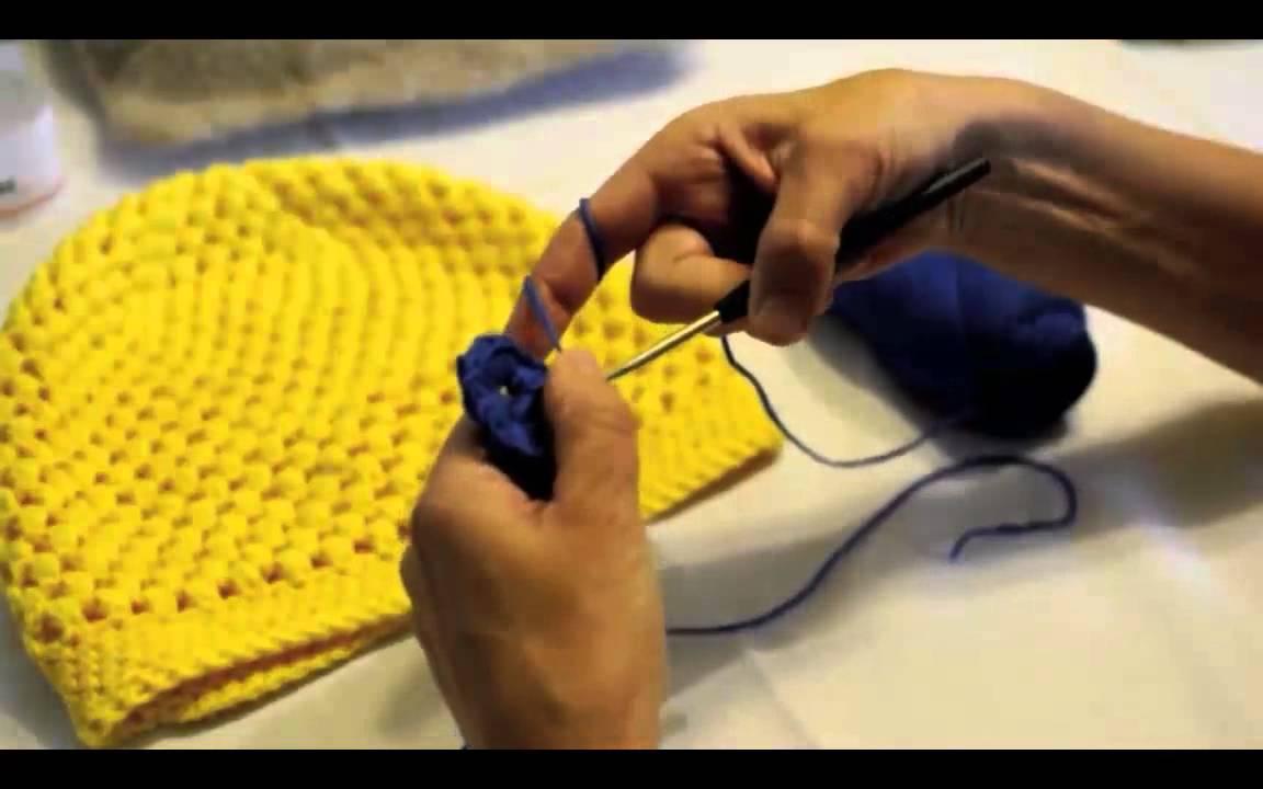 """vhsStrickMooc - Tutorial 9a: eine """"Puff-Stitches-Mütze\"""