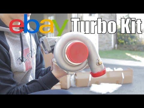REV9 Ebay Turbo Kit Unboxing for the Civic