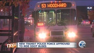 New transit police force approved to ride DDOT buses