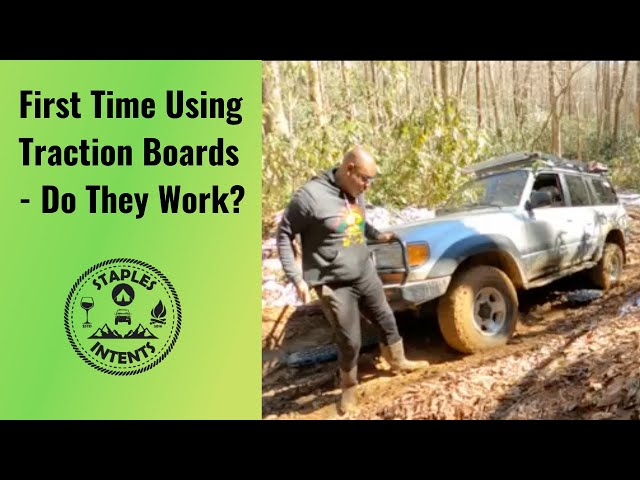Traction Boards - Do They Work